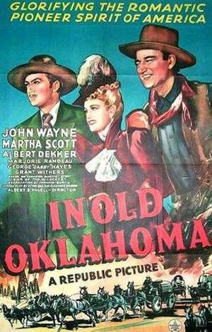 In Old Oklahoma - Image: In Old Oklahoma Film Poster