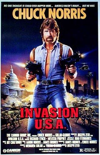 Invasion U.S.A. (1985 film) - Theatrical poster