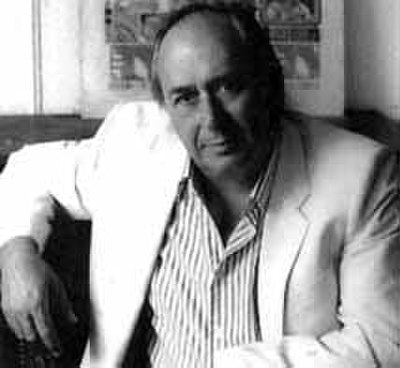 Picture of an author: J. G. Ballard