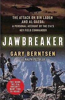 <i>Jawbreaker: The Attack on bin Laden and al-Qaeda</i> Book by Gary Berntsen