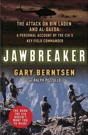 Jawbreaker: The Attack on bin Laden and al-Qaeda - Image: Jawbreaker 2005 bookcover