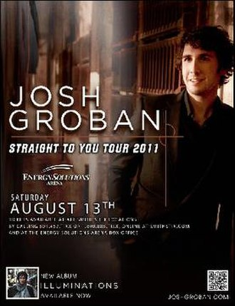 Straight to You Tour - Image: Jg stytposter