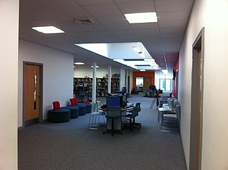 John Ferneley College - Image: John Ferneley College Breakout Area