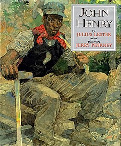<i>John Henry</i> (picture book) book by Julius Lester