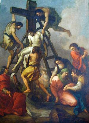 Joseph Barney - Deposition from the Cross (1781)