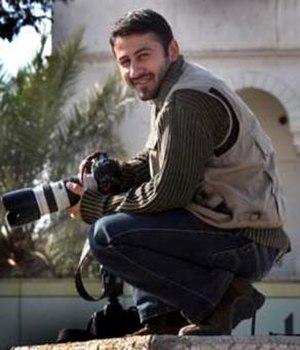 Namir Noor-Eldeen - Journalist Namir Noor-Eldeen, killed by a U.S. airstrike in Baghdad, 2007.