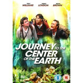Journey to the Center of the Earth (miniseries) - DVD cover
