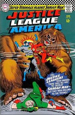 Shaggy Man (comics) - Wikipedia
