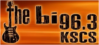 """KSCS - """"The Big 96.3"""" logo used shortly from 2008-2009."""