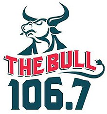 KWBL 106.7 The Bull Denver logo.jpg