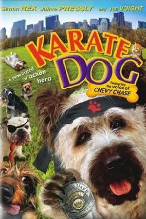 The Karate Dog - DVD cover
