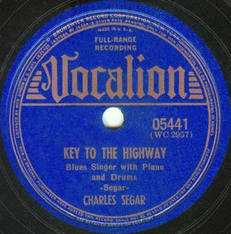 Key to the Highway - Image: Key to the Highway single cover