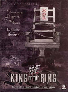 King of the Ring (2001) 2001 World Wrestling Federation pay-per-view event