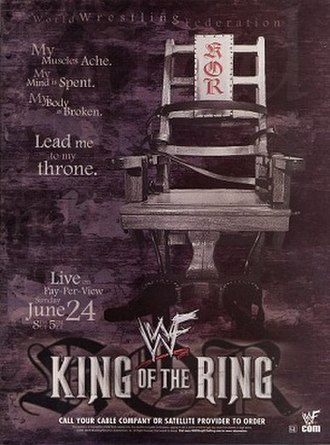 King of the Ring (2001) - Promotional poster
