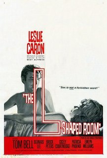 <i>The L-Shaped Room</i> 1962 film by Bryan Forbes