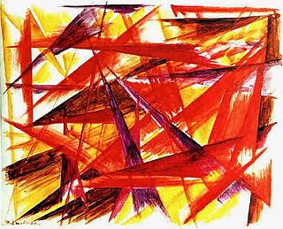 Rayonism Russian art movement