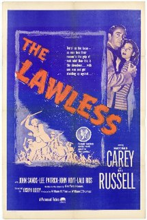 <i>The Lawless</i> 1950 film by Joseph Losey