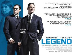 Legend (2015 film) - British theatrical release poster