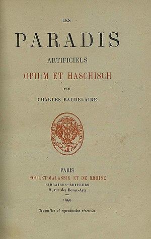 Les Paradis artificiels - Image: Les Paradis Artificiels Title Page