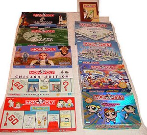 History of the board game Monopoly - Licensed and special collectible editions of Monopoly, produced for the United States market between 1997 and 2006