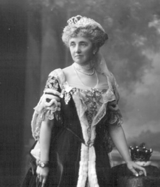 Louisa McDonnell, Countess of Antrim - The Countess of Antrim on the occasion of the coronation of King George V in 1911.