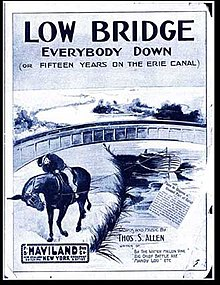 Cover of sheet music published in 1915.