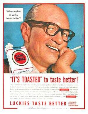 Jimmy Hatlo - Jimmy Hatlo endorsement print ad (1954)