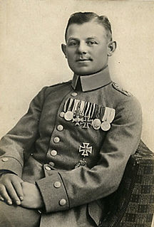 Max Ritter von Müller German flying ace