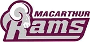 Macarthur Rams FC - Image: Macarthur Rams logo