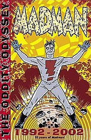 Mike Allred's comic, Madman, has many similarities to Freakazoid!