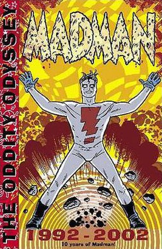 Mike Allred - Cover to the Madman Adventures collected edition