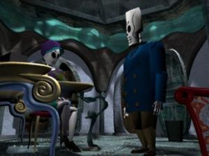 LucasArts adventure games - Grim Fandango (1998) introduced 3D graphics in the form of the GrimE engine