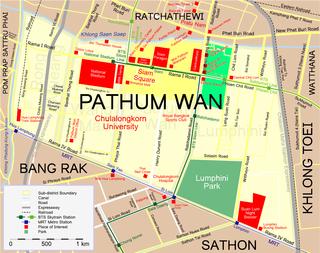 Siam area