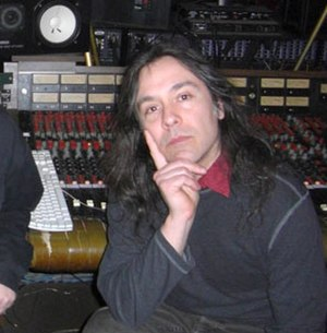 Martin Bisi - Image: Martin Bisi in front of BC Studio console