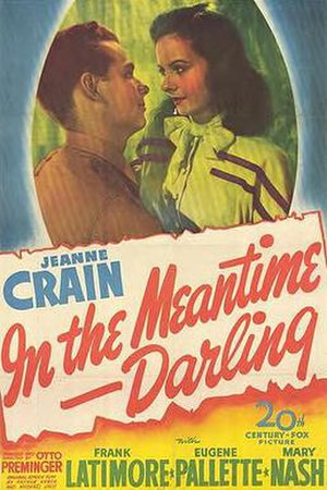 In the Meantime, Darling - Original poster