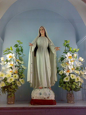 The image of Our Lady, Mary Mediatrix of All G...