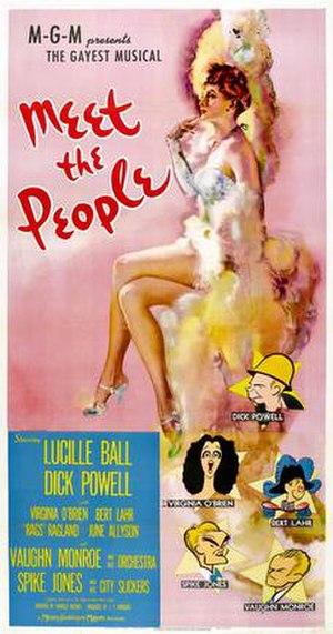 Meet the People - Image: Meet the people 1944