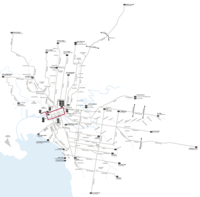 Melbourne trams route city circle map.png