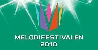 Melodifestivalen 2010 season of television series