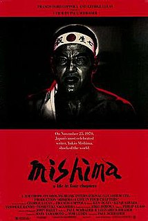 <i>Mishima: A Life in Four Chapters</i> 1985 film by Paul Schrader