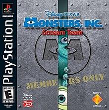 Monsters, Inc  Scream Team - Wikipedia
