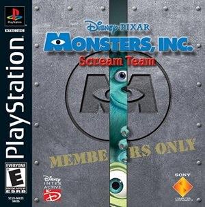 Monsters, Inc. Scream Team - Image: Monsters, Inc. Scream Team cover