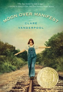 <i>Moon Over Manifest</i> book by Clare Vanderpool