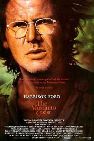 The Mosquito Coast - Theatrical release poster by John Alvin