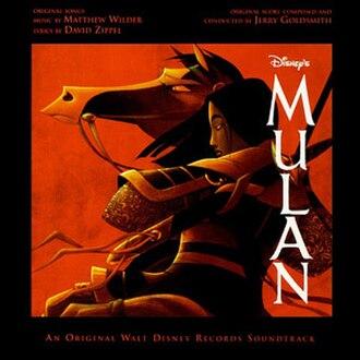 Mulan (soundtrack) - Image: Mulan film soundtrack album cover