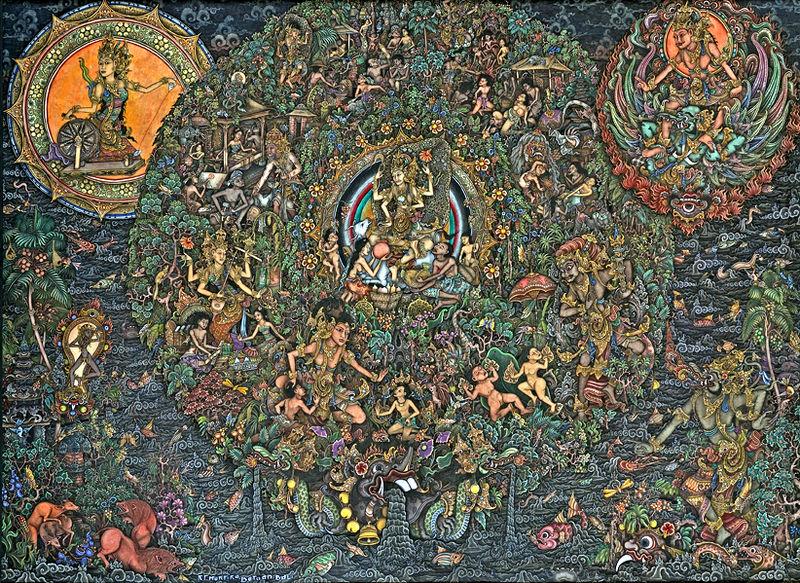 Famous Batik Painting