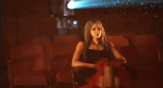My Happy Ending - Lavigne watches scenes with her ex-boyfriend in the cinema.