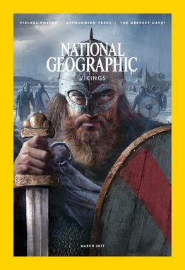 National Geographic Magazine March 2017 Cover