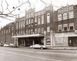 New Haven Arena - New Haven Arena, demolished 1974