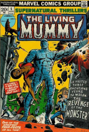 N'Kantu, the Living Mummy - Image: Nkantumu 0